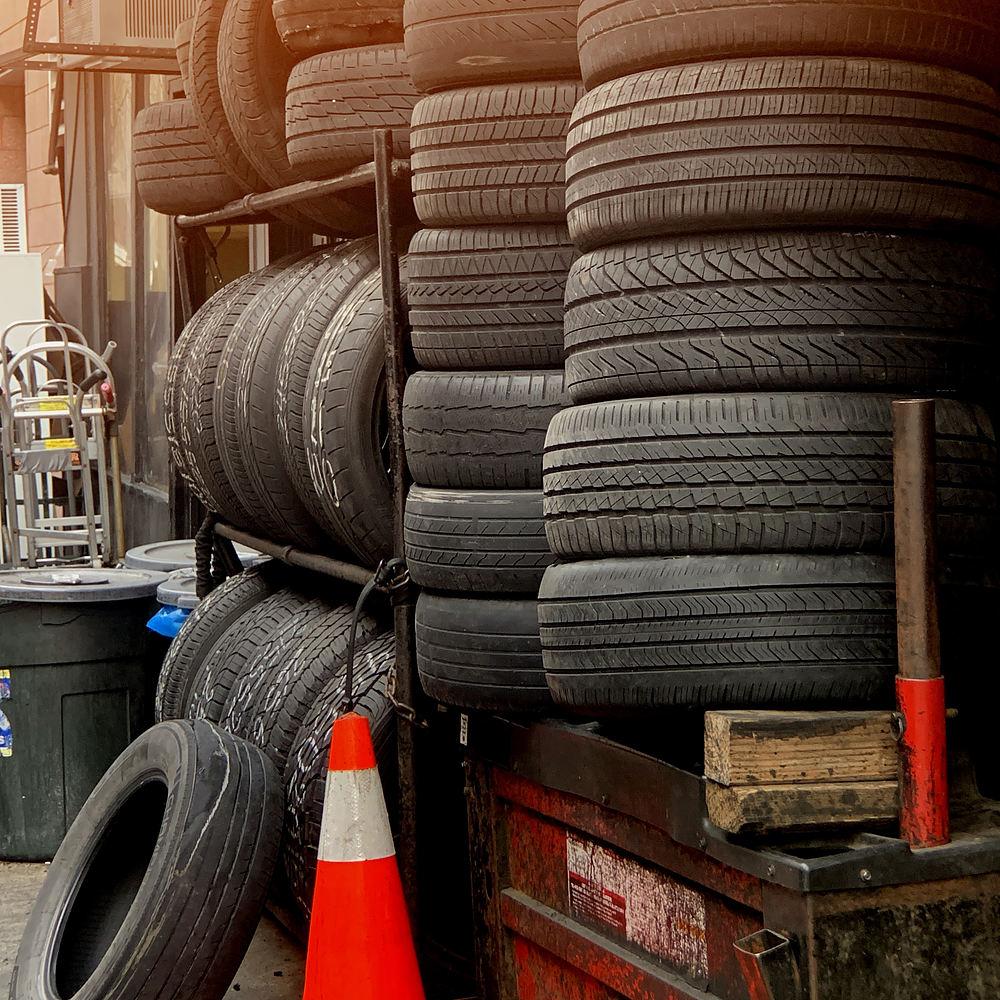 Förvaring av dina däck
